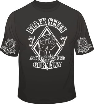 support germany support t shirt black seven. Black Bedroom Furniture Sets. Home Design Ideas